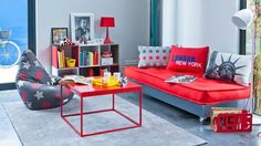 Attractive Pop Decorating Ideas for Living Rooms