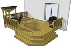 Can someone come build this for me? I need a deck attached to the back of my house