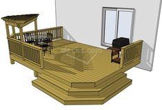 cute simple deck
