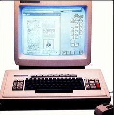 #FlashbackFriday: Xerox developed the first computer to use a graphical interface- an idea that Steve Jobs based Apple upon.