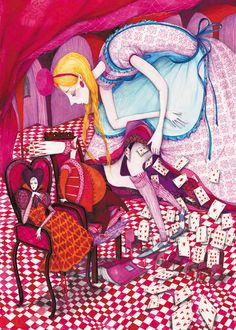 """Lewis Carroll's """"Alice"""" by Madalina Andronic"""
