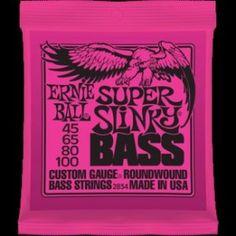 Ernie Ball – 2834 – Super Slinky Bass. Mute per basso elettrico Ernie Ball. http://byomusic.it/prodotto/ernie-ball-2834-super-slinky-bass/