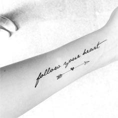 Cute Arrow Tattoo Ideas For Women - Best Tattoos For Women: Cute, Unique, and Meaningful Tattoo Ideas For Girls - Get Cool Female Tattoos with Pretty Designs Neue Tattoos, Body Art Tattoos, Girl Tattoos, Tatoos, Tattoos For Girls, Heart Tattoos, Butterfly Tattoos, Trendy Tattoos, Small Tattoos