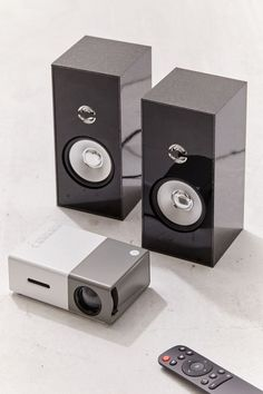 Projector and Speaker Gift Set Music Gadgets, Gadgets And Gizmos, Cool Tech Gifts, Christmas Gift Sets, Tech Toys, Instant Camera, Music Gifts, Gadget Gifts, Holidays With Kids