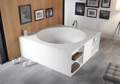Особенности ванн из литьевого мрамора – специального полимера, наполненного мраморной или гранитной крошкой, еще такой материал называют искусственным камнем.  Плюсы ванн из искусственного камня: + Ванны из литьевого мрамора могут быть любого цвета. + Искусственный мрамор, из которого изготавливаются ванны – теплый и приятный на ощупь материал. Он быстро нагревается и долго сохраняет тепло воды. + Ванна из искусственного камня настолько прочная сама по себе, что ей не требуется…