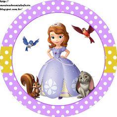 Montando minha festa: Kit digital grátis para imprimir Princesa Sofia Disney