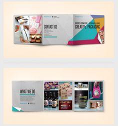 Design Futures exhibition materials -- Branding, Exhibition Design, Graphic Design via Behance #squarepage #trifold