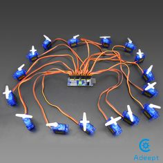 16-Channel 12-bit PWM/Servo Driver-I2C interface-PCA9685 for Arduino Adeept (Scheduled via TrafficWonker.com)
