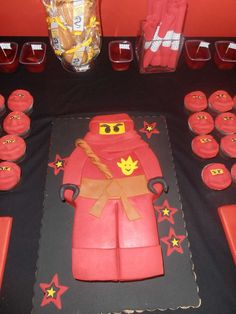 Ninja party Birthday Party Ideas | Photo 4 of 15 | Catch My Party