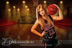 Senior Photos - basketball www.drummondphotogallery.com
