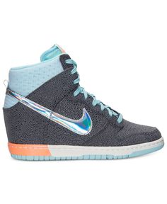 Nike Women's Dunk Sky High Premium Casual Sneakers from Finish Line - Sneakers - Shoes - Macy's
