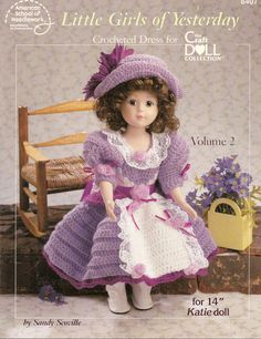 Hey, I found this really awesome Etsy listing at https://www.etsy.com/listing/226399582/little-girls-of-yesterday-vol-2-14-katie