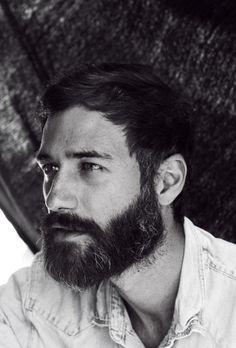 beards, men.