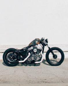 Bobber Inspiration | Harley Sportster #bobber | d-re-a-m-e-r June 2014