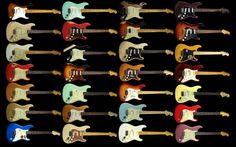 Gitarrzombien: Snårskogen kring Fender Stratocaster, MIA och MIM