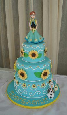 Frozen fever cake fo