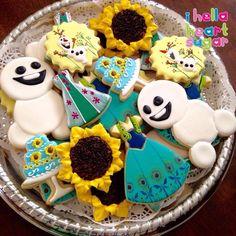 Frozen Fever cookies