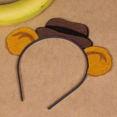 Fozzie the Bear Felty Ears and Hat