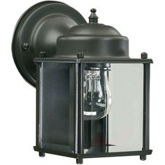 View the Quorum International Q700 Lantern 1 Light Outdoor Wall Sconce at Build.com.