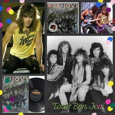 Slippery when wet Bon Jovi Tour, Bon Jovi 80s, Jon Bon Jovi, Rockstars, 80s Songs, Slippery When Wet, Band Photos, Great Love, Bellisima
