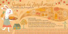 Queque de Zanahorias!! - Cositas Ricas Ilustradas por Pati Aguilera Chilean Recipes, Chilean Food, Vintage Drawing, Food Drawing, Sweet And Salty, Food Illustrations, Going Vegan, Stevia, Food Art