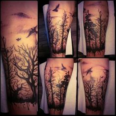 Fresh tattoed