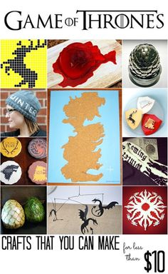 14 Game Of Thrones crafts