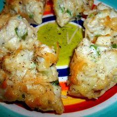 ~ Cheesie Chicken Muffin Appetizers ~
