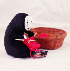No-face Knitting Spirited Away Plush Toys