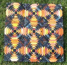 Halloween pineapple mini-quilt | Flickr - Photo Sharing!