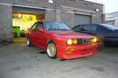 Red BMW E30 M3 Bmw E30 M3, Car, Ideas, Automobile, Thoughts, Autos, Cars