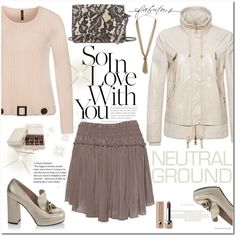 Love it neutral by sundangofashion on Polyvore