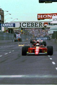 Alain Prost, Ferrari 642 1991