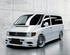 Mercedes V-Class Vito MK1 - not a VW, but i love the look.