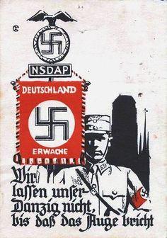 German NSDAP propaganda   < 700° (wessel lied) https://de.pinterest.com/matthyskristiaa/wwi-wwii-posters/  txt!!