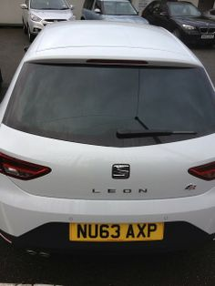 The New Seat Leon #carleasing deal | One of the many cars and vans available to lease from www.carlease.uk.com
