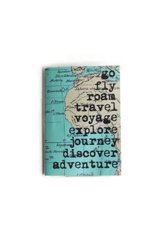 Map Passport Cover Passport Holder Travel by ninthandpine on Etsy