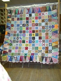 Baby Jane Quilt started Feb 06 and completed September 2007