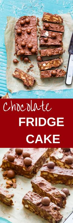 CHOCOLATE FRIDGE CAKE is a No Bake Eggless Cake with loaded indulgence – Chocolates, Easter chocolate eggs, Digestives, Caramel Condensed Milk & Maltesers. Isn't its deliciousness overloaded? It's a kid's friendly recipe. Make sure to get help from the li