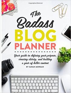 """[""""The Badass Blog Planner"""" di Sarah Morgan] 5 libri per lavorare meglio da cui trarre ispirazione e nuovi stimoli. Per un rientro al lavoro pieno di energia ed entusiasmo, come il primo giorno..."""