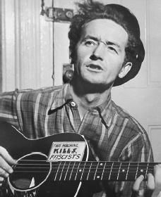 Woody Guthrie ~ American musician, songwriter and singer