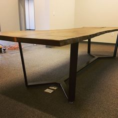 Stay up to speed on Symmetry's metal table leg work. Here is a gallery of our most recent metal table base designs and DIY finished products. Steel Table Legs, Table Bases, Ping Pong Table, Wood Crafts, Corner Desk, Kitchens, Hardware, Dreams, Random