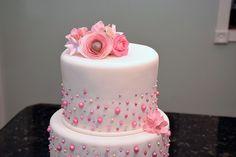Wedding cake by K Noelle Cakes