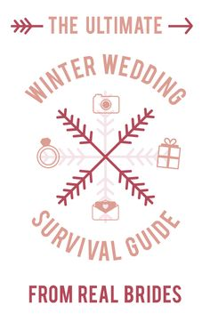 The Ultimate Winter Wedding Survival Guide from Real Brides. #Weddings
