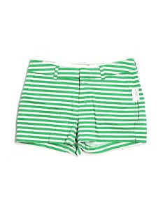 old navy green stripe shorts (nwt) - $8