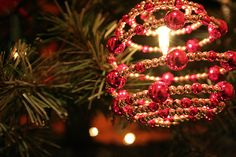 Beaded Christmas Ornaments to Make | Garden Guides
