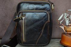 Men Messenger Bag / Mini Bag 6W x 8H / Shoulder by SherryJewelry, $39.90