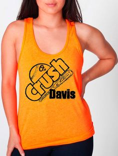 Orioles TANK top or Unisex Tee Chris the CRUSH Davis