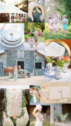 Kentucky Derby inspired wedding