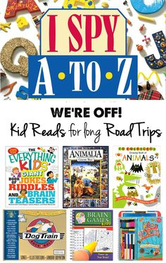 Such fun!  Books to take on road trips!